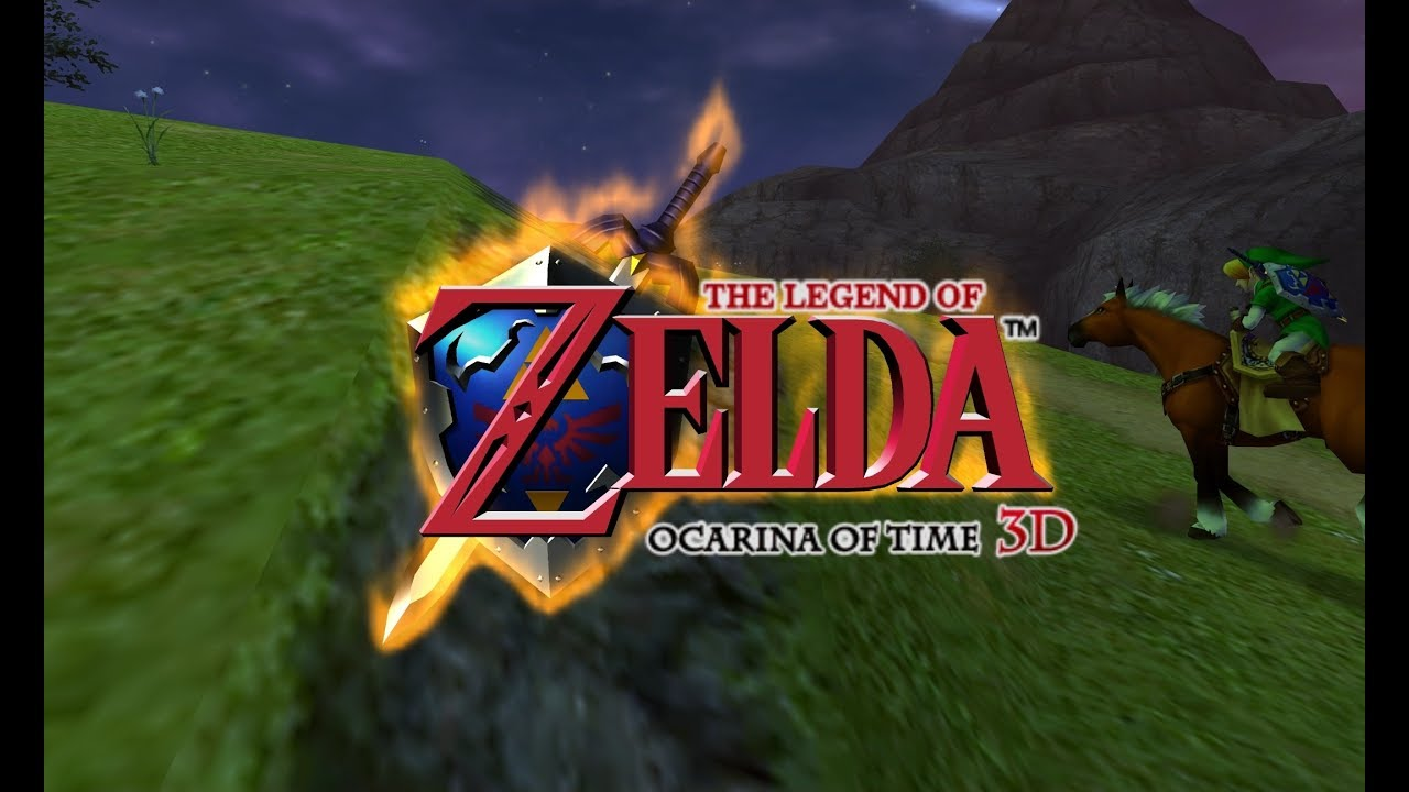 The Legend of Zelda: Ocarina of Time 3D on PC in 4K