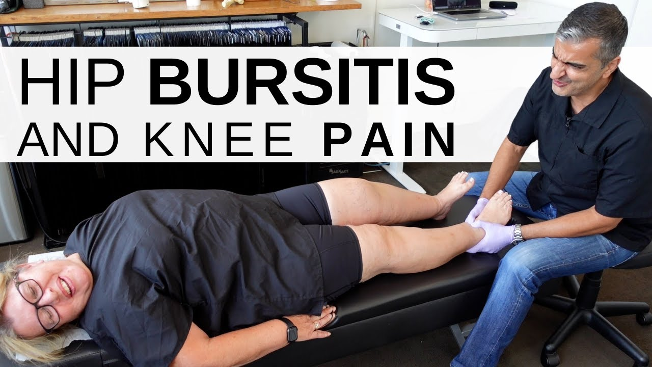 #Hip_Bursitis and #Knee_Pain Helped! Dr. Rahim #Chiropractic