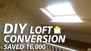 Diy Loft Conversion, (saved £16000) And Added An Extra Bed Room.