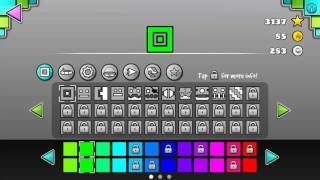 Geometry dash meltdown: all icons and colours – DarkuterYT