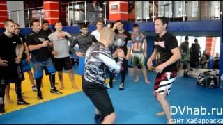 Тренировка Олега Саитова