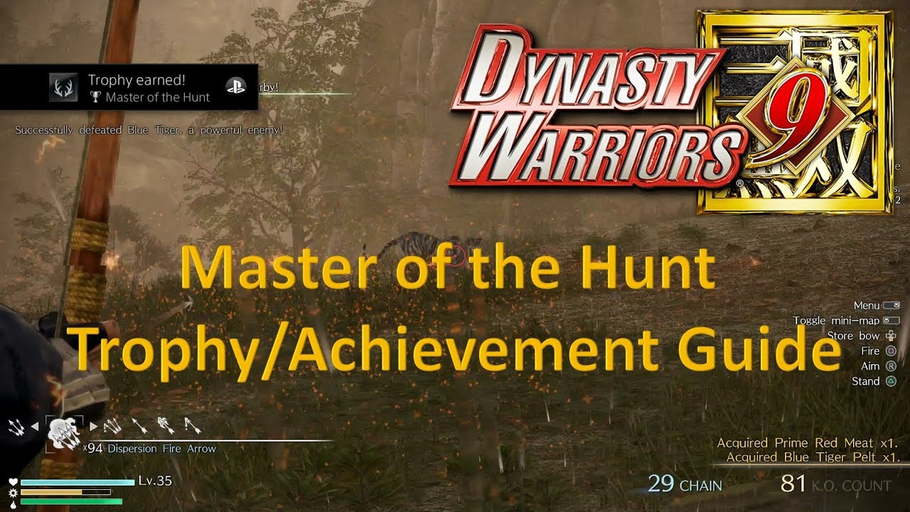 dynasty warriors 8 empires trophy guide and roadmap