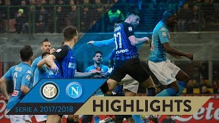 INTER-NAPOLI 0-0 | HIGHLIGHTS | Matchday 28 - Serie A TIM 2017/18