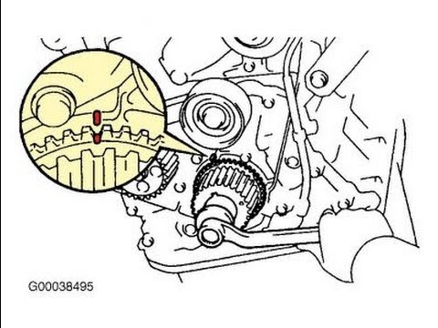 2005 mazda 3 serpentine belt diagram 1999 ezgo golf cart wiring toyota camry timing - youtube