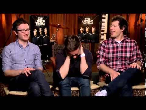 Akiva Schaffer Jorma Taccone and Andy Samberg of comedy band ...