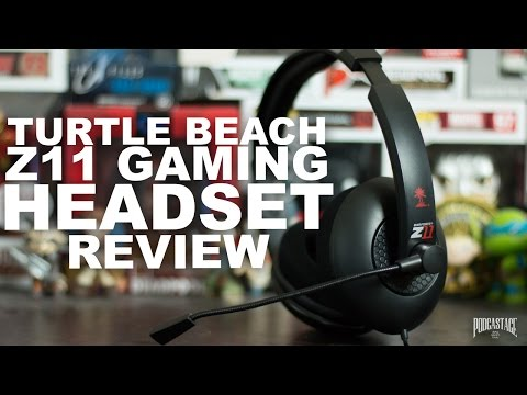 Turtle Beach Ear Force Z11 Gaming Headset Review / Test