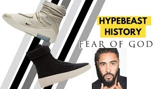 History of Fear of God