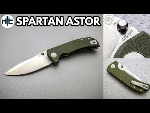 Spartan Blades Astor Field Grade Folding Knife – Overview and Review