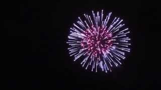 Firework ending at opening of UKA15: «Lurifax»