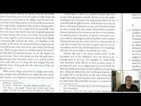 3.  An Introduction to Aristotle's Politics