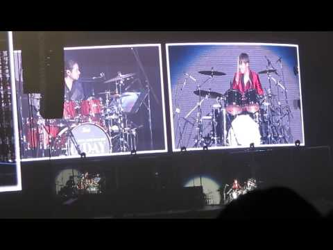 170422 Daesung on Drums + Hello (Short Fancam) (D-Day Kyocera Day 1)