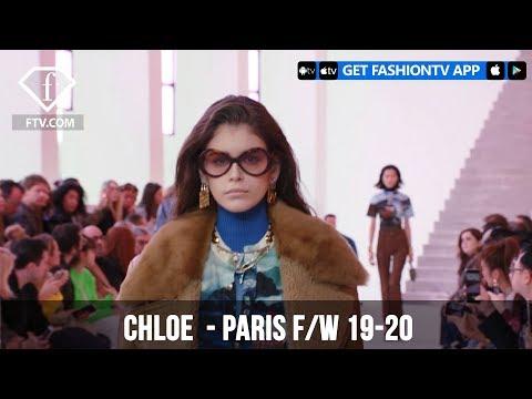Kaia Gerber at Chloe Paris Fashion Week F/W 19-20 | FashionTV | FTV