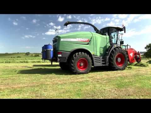 GRASSMEN TV  - Bartlett Contractors Ltd. Fendt Katana 85