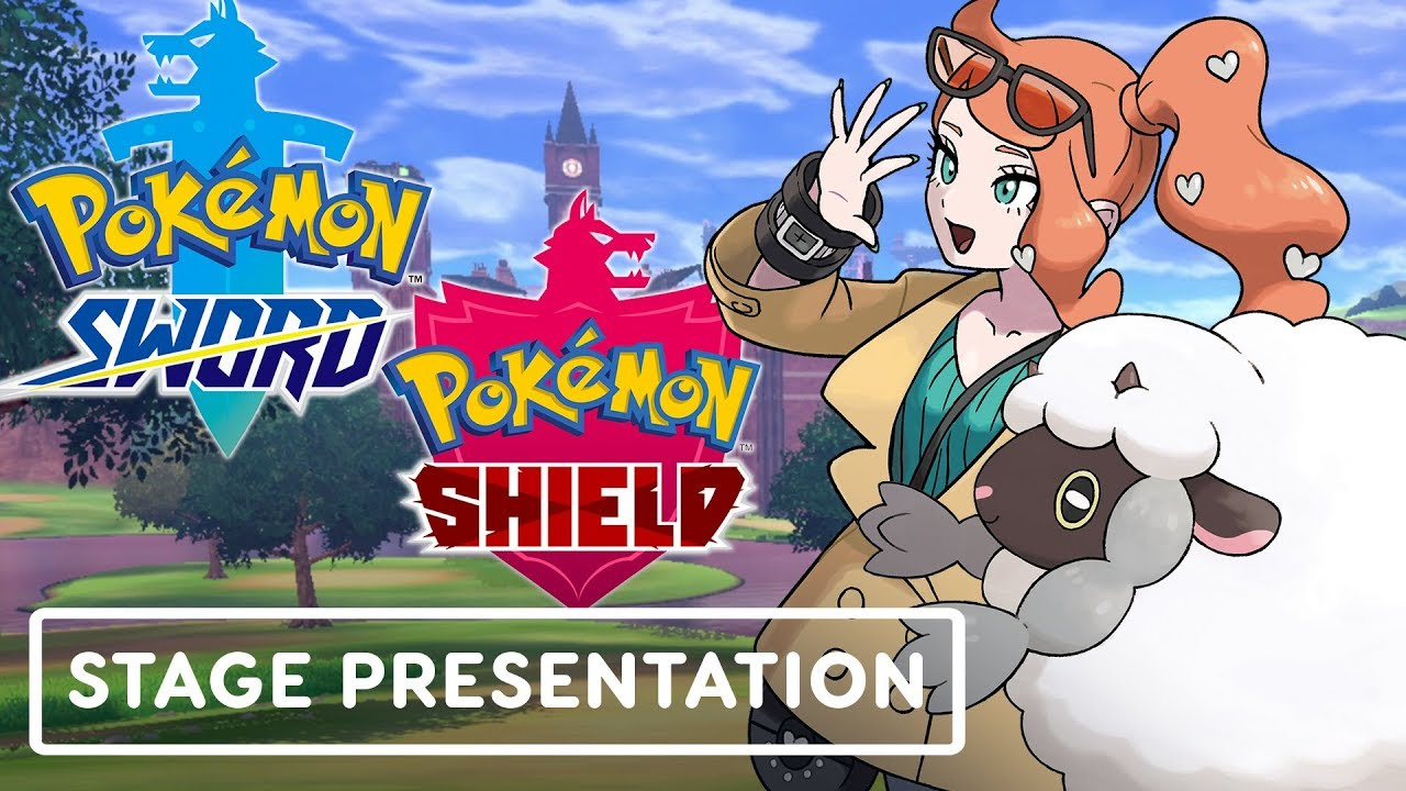 Pokemon Sword And Shield Treehouse Full Gameplay Presentation E3