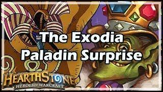 [Hearthstone] The Exodia Paladin Surprise