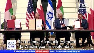 Beniamin Netanyahu a găzduit o întâlnire istorică cu EAU | Știre Alfa Omega TV