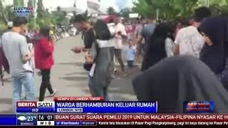 Download Video Gempa 5,2 SR Guncang Lombok Timur MP3 3GP MP4