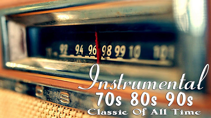 oldies instrumental of the 70s 80s 90s  old songs but goodies