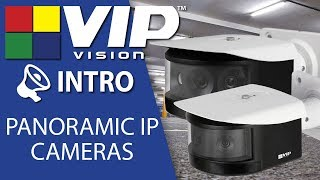 VIP Vision VSIP8MPPAV2 Panorama Series 8.0MP 180° Panorama Camera video