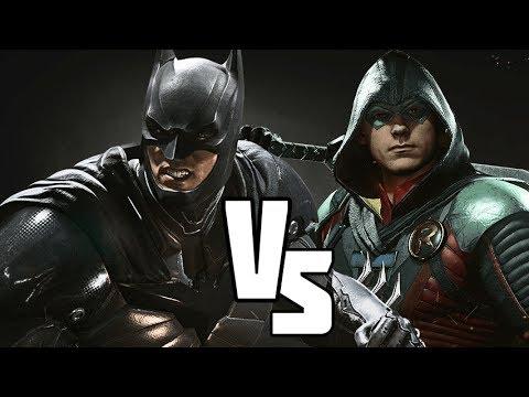 Injustice 2: BATMAN VS ROBIN (Injustice Versus) Battle for the Cowl!