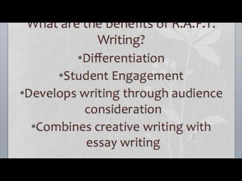 R.A.F.T. Writing Module