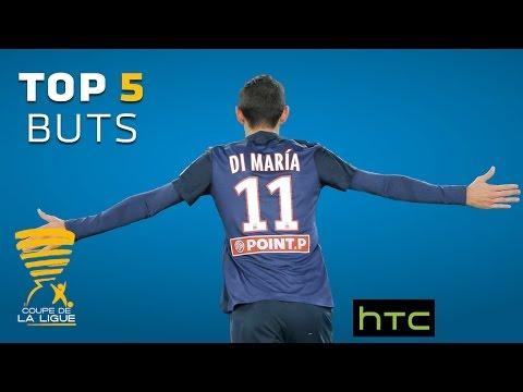 Retrouvez les 5 plus beaux buts de la compétition - Coupe de la Ligue 2016