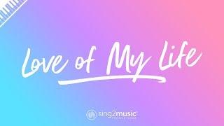 Love of My Life (Piano Karaoke Instrumental) Queen