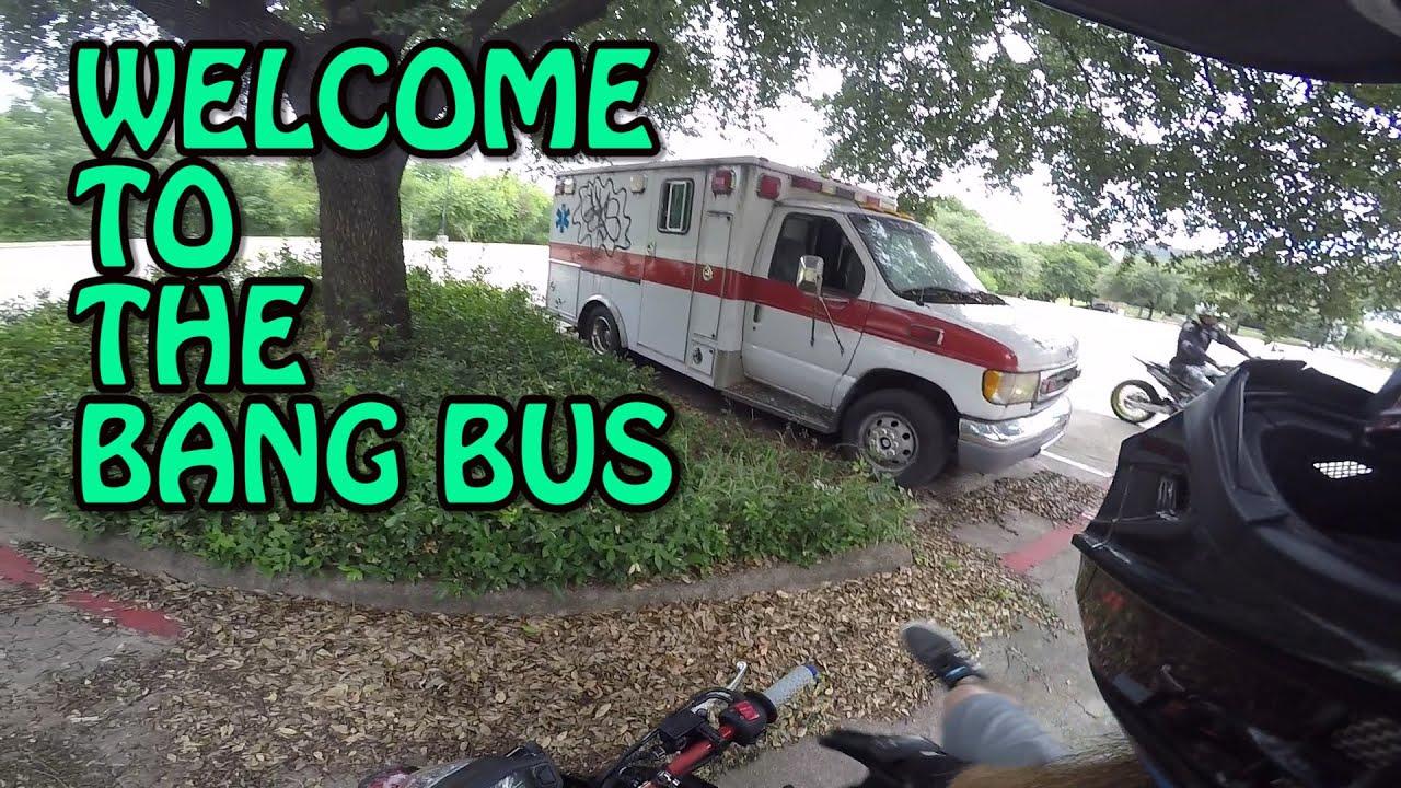 We Found A Bang Bus I Mean Abandoned Ambulance