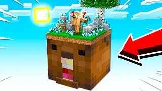 SURVIVING ON A GIANT SPIFEY in MINECRAFT!