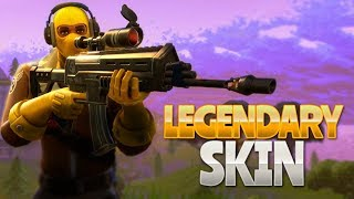 LEGENDARY SKIN! (Fortnite Battle Royale)