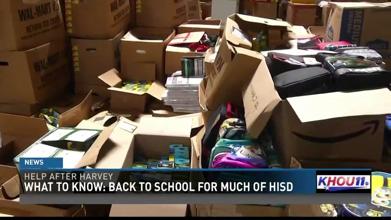 High Quality What To Know: Back To School For Much Of HISD