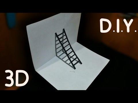 D.I.Y 3D Merdiven - Merdiven Nasıl...