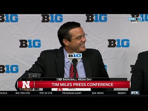 2017 Big Ten Men's Basketball Media Day - Nebraska's Tim Miles
