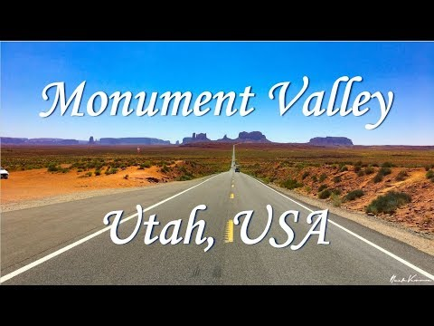 Monument Valley Aerial Footage | Utah | United States Trip By Drone - Part #2