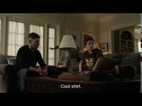 The Punisher,Jon Bernthal as F.Castle-I hurt people.Is that what you Want?