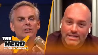 Andrew Whitworth believes Russell Wilson doesn't get enough credit, talks Tua | NFL | THE HERD