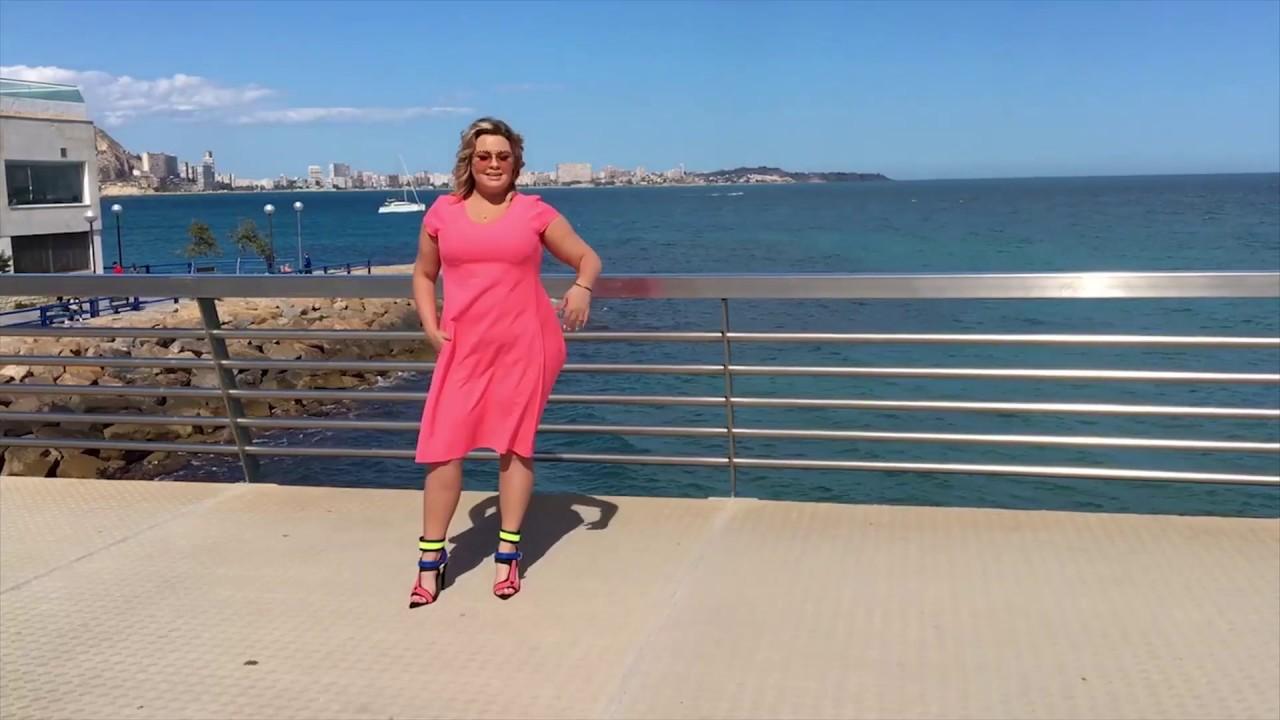 5b980b29e7 Paula Perez w letniej sukience KINGA marki Grandio - YouTube