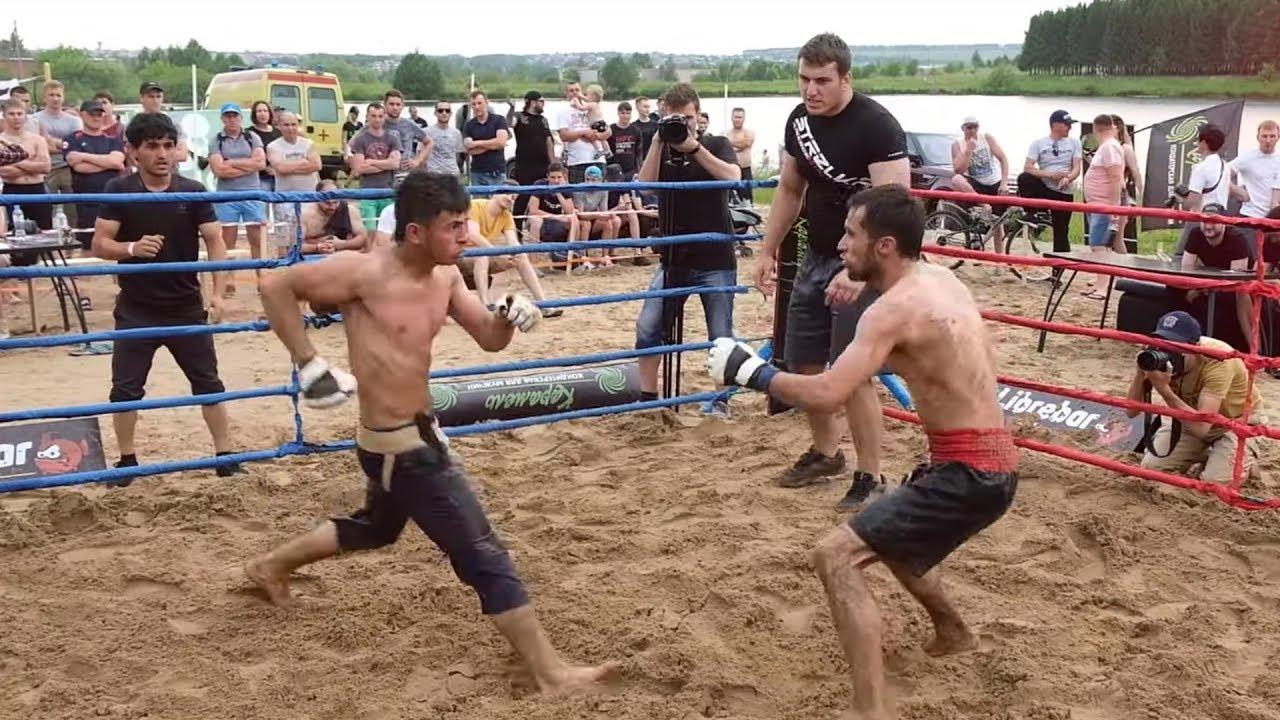 Бешеный бой двух Таджиков !!! Крутой бой !!!