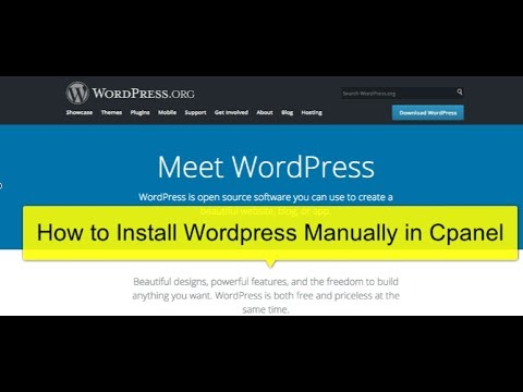 Installing Wordpress with File Manager in cPanel | Boyce Digital ...