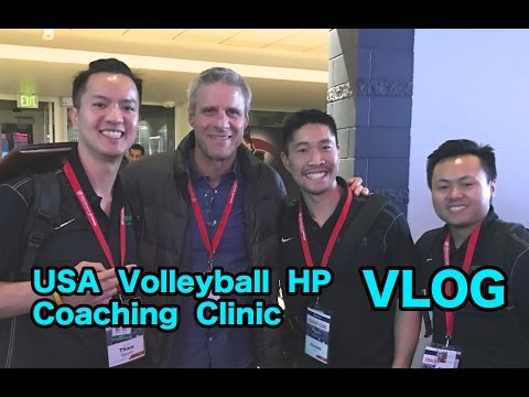 VLOG - USA Volleyball High Performance Coaching Clinic