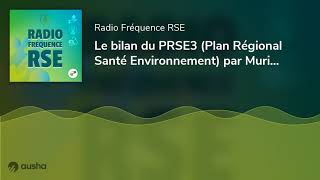 Le bilan du PRSE3 (Plan Régional Santé Environnement) par Muriel Andrieux - l'ANFH fait sa COP