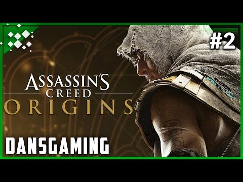 Let's Play Assassin's Creed Origins - Part 2 - PC Gameplay - Dansgaming