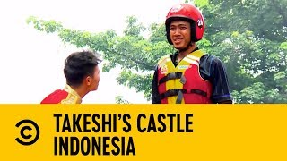 The Tallest Man On Earth with Martin Kemp | Takeshi's Castle Indonesia