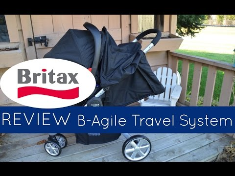 2015 Britax B-Agile 3 Travel System REVIEW & Demo