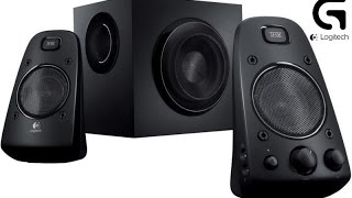 Logitech Z623 2.1 System Sound Quality and Subwoofer Bass Test 2