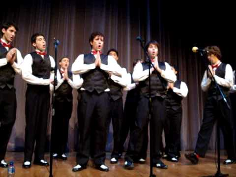 Fleet Street Singers - My Humps, Soulja Boy, Milkshake, Single Ladies 11-13-09