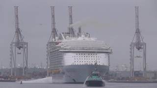 Harmony of the Seas Mini Cruise depart Southampton 20th May 2016
