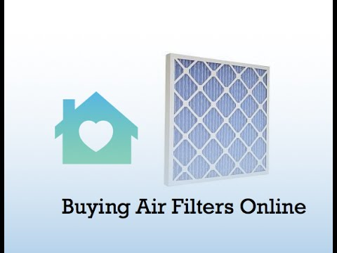 Buying Online: Air Filters