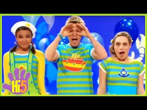 Underwater Disy  Hi5  Season 13 Song of the Week  Kids Songs