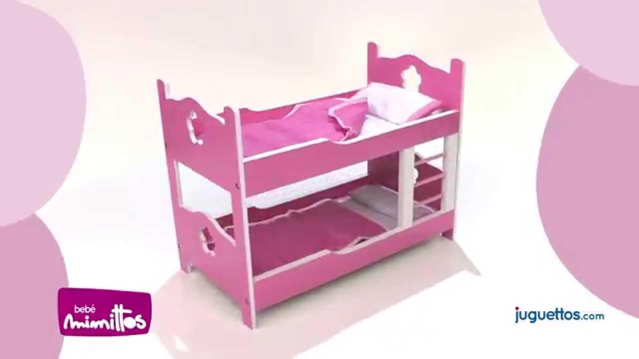 Mimittos litera de madera youtube - Hacer una cama de madera ...